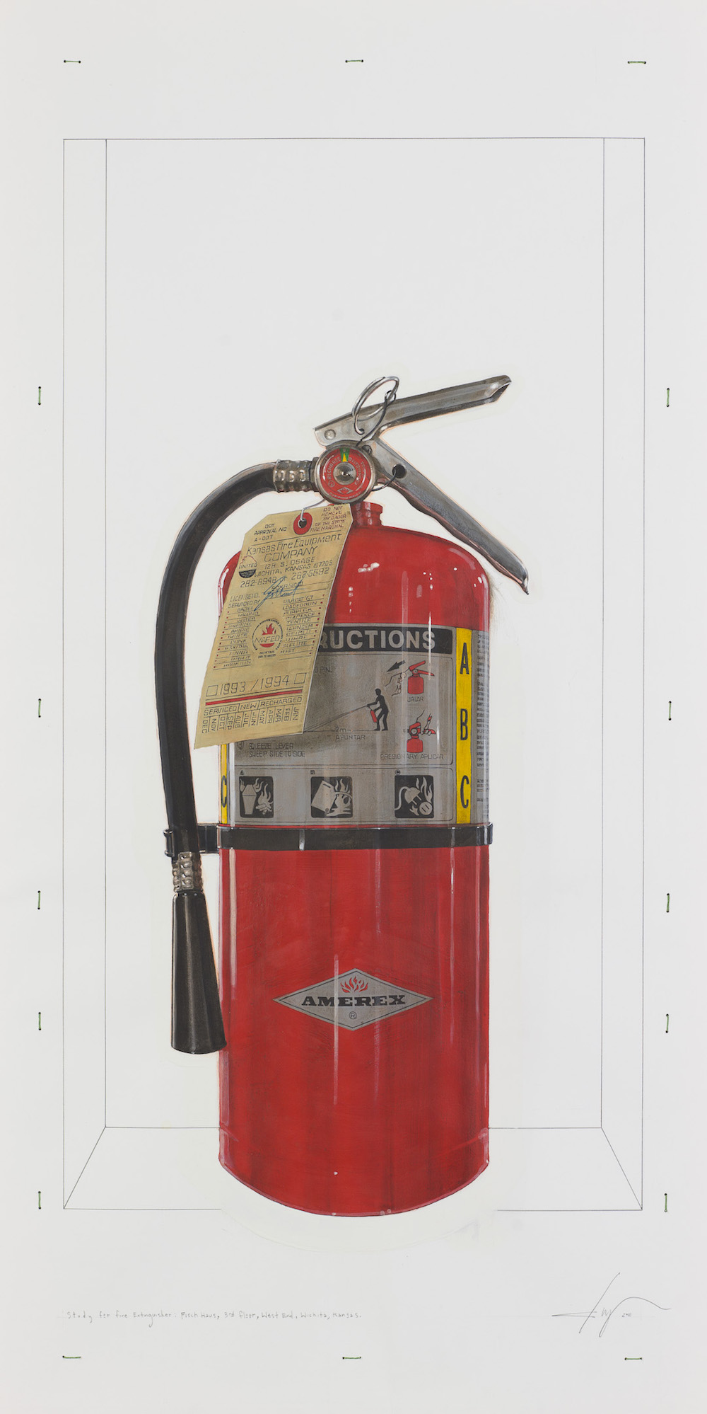 Fire Extinguisher 0097